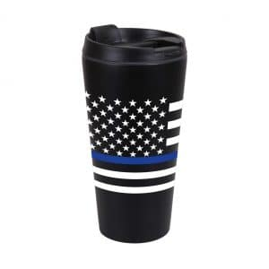 1299 Travel Cup / Coffee Mug – Thin Blue Line