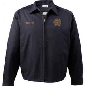 3432-40 Lion Poly/Cotton Station Jacket – Navy