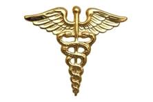 4406 Medical Officer Caduceus – 1 Pair