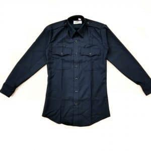 49W8486 Flying Cross Navy Long Sleeve Poly/Wool