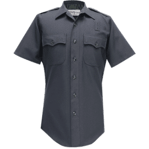 70R9586 Flying Cross Navy Short Sleeve Shirt 100% Wool
