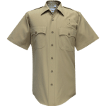 90R6504 Flying Cross Silvertan Short Sleeve Dry-Clean Only