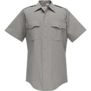 95R6651 Flying Cross Nickel Grey Short Sleeve Deluxe Tropical Poly/Rayon