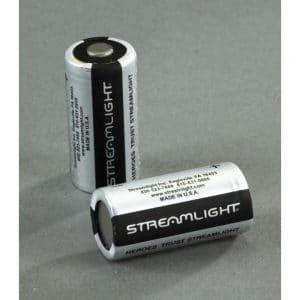 CR123A Streamlight 3V Lithium Batteries
