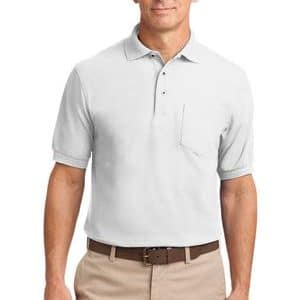 K500P Silk Touch Polo by Port Authority w/ Pocket