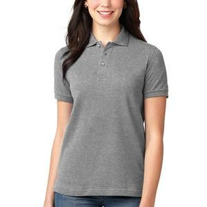 L420 Ladies Heavyweight Pique Knit Cotton Polo by Port Authority