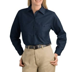 PT21 Ladies Industrial Work Pant Poly/Cotton – Black