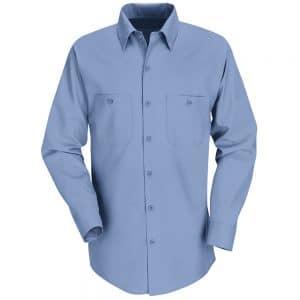 SP14 Men's Industrial Long Sleeve Workshirt