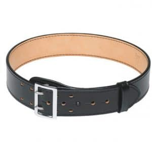 1011 Plain Black Sam Brown Duty Belt 2 1/4″