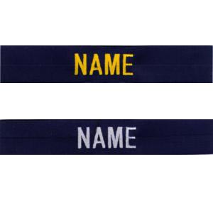 019 Name Strip Embroidery