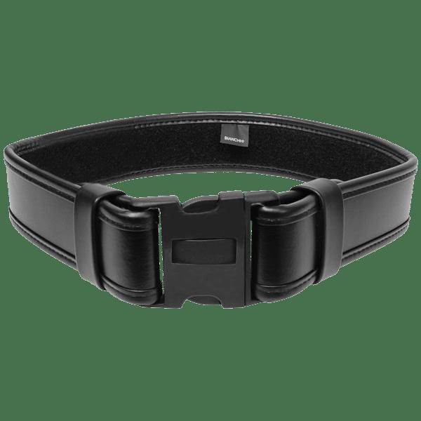 """Bianchi 22588 Black Basketweave AccuMold Elite ErgoTek 2.25/"""" Duty Belt SZ 36"""