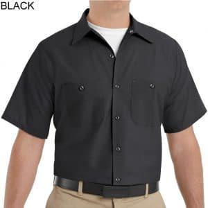 SP24 Men's Industrial Short Sleeve Workshirts