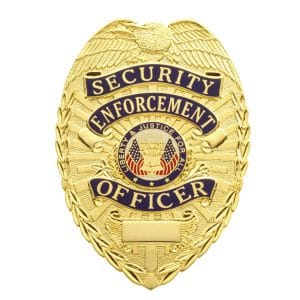4101 Security Enforcement Officer Badge