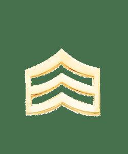 123SC Sergeant Chevrons – 1 Pair
