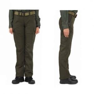 64306-890 Sheriff Green Ladies Twill PDU Cargo Pant