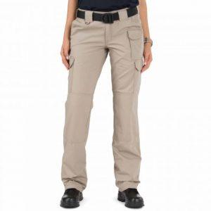 64358-055 Ladies Original 5.11 Tactical Khaki Pant
