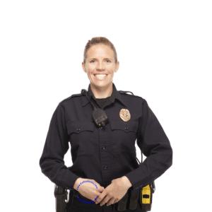 120W9586 Ladies Flying Cross LAPD Navy Long Sleeve Wool