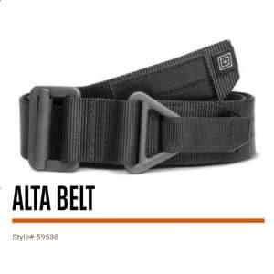 59538 5.11 Tactical 1.75″ Alta Belt – Black
