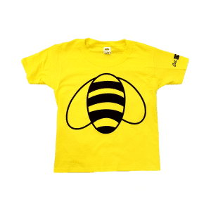 3930Y Gold Youth T-shirt w/ Bumble Bee Print