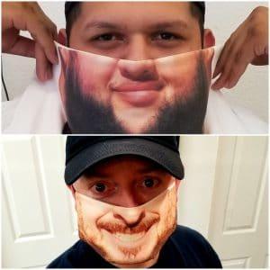 CM01 Custom Printed Face Mask