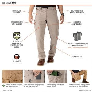 74369 5.11 Stryke Cargo Pants
