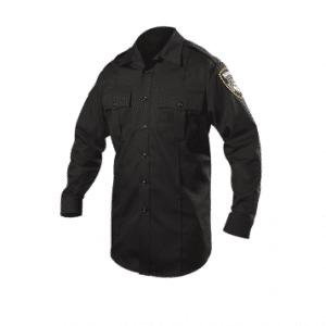 8703X Blauer Street Gear Long Sleeve Shirt – Dark Navy