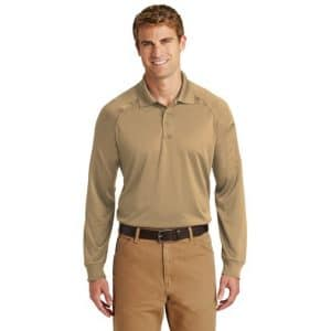 CS410LS Tactical Long SLeeve Polo Select Snag-Proof by Cornerstone