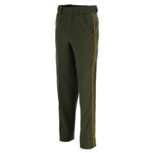 32275-05 CDCR Green Poly/Wool Trousers w/ Braid